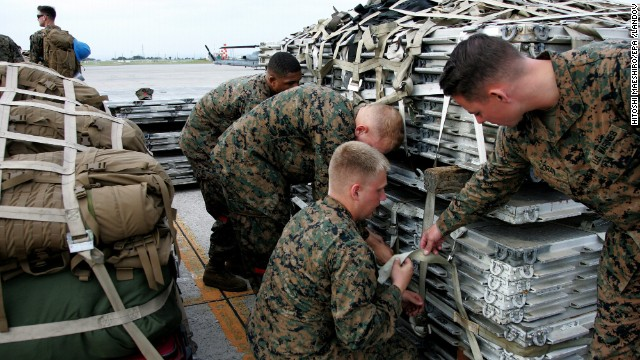 Marines head to the Philippines