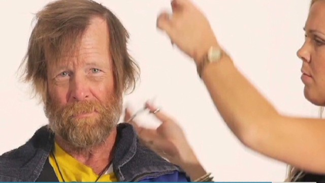 Homeless vet makeover goes viral