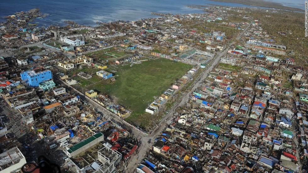 Guiuan on November 11