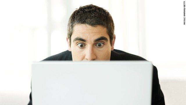 Making an effort to blink more often when working on a computer is one tool to help avoid eyestrain.