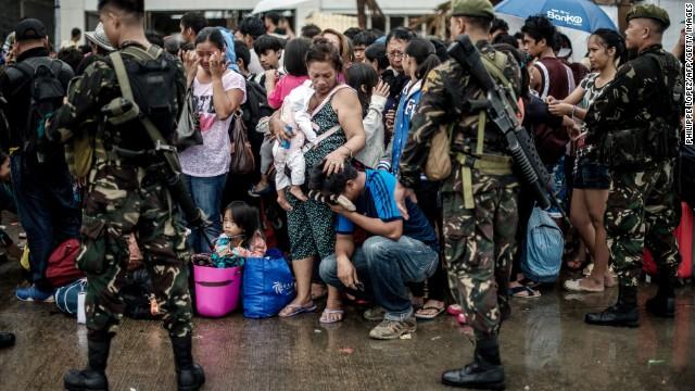 Typhoon devastates Philippines