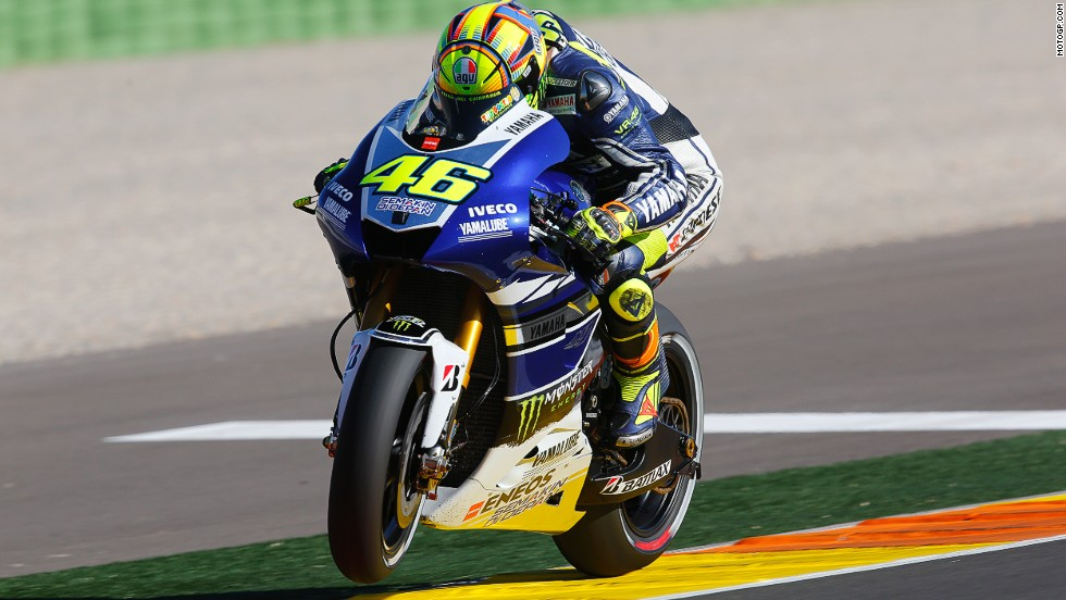 Seven-time world champion Rossi was a distant fourth in the standings in his return to Yamaha after two seasons with Ducati.