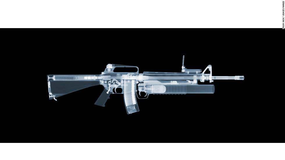 xray M-16