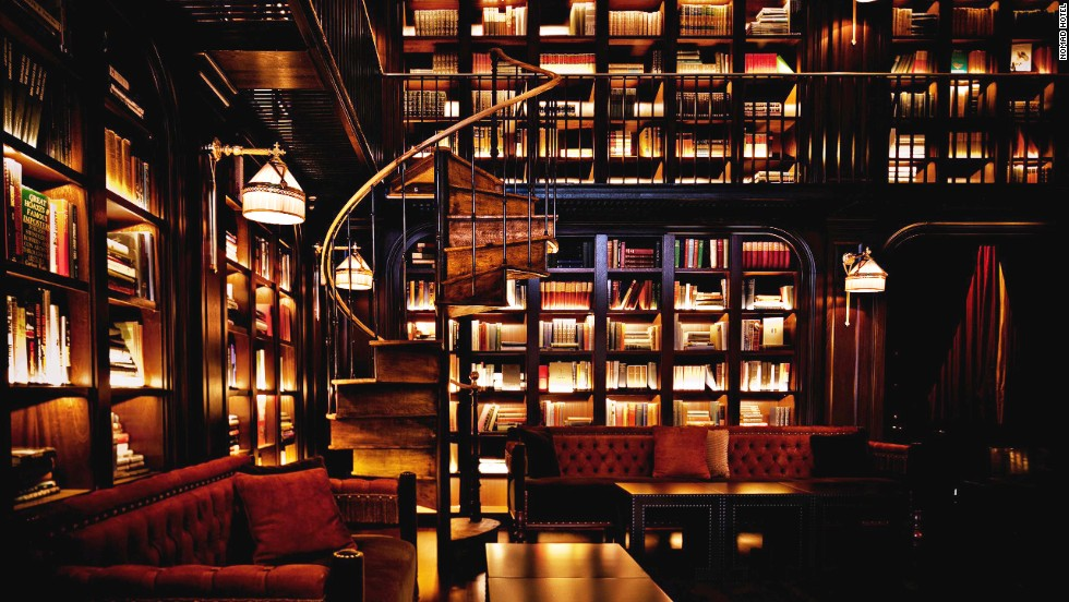 "During the design process, owner Andrew Zobler imagined the hotel to be a place where a young woman of aristocratic French birth had gone off on her own to experience New York. The books in the hotel's beautiful library are organized by the 15 subjects that they imagined this young woman would be reading, such as ""The History of New York"" and ""Music."""