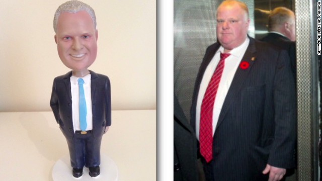 Crack-smoking mayor spawns bobblehead