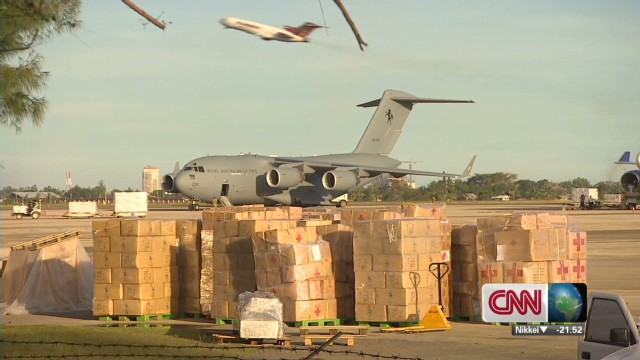 Philippines relief efforts intensify
