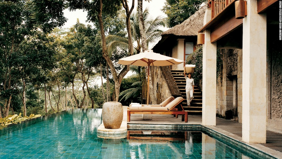 "Located in Ubud, Bali, ""the world capital of wellness retreats,"" the <strong>Como Shambhala Estate</strong> offers the most luxurious of therapies in a tropical, holistic setting."