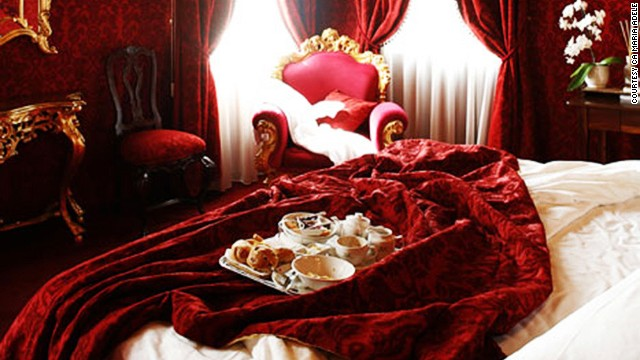 The Ca Maria Adele hotel in Venice placed second in the Sexiest Bedroom in the World category.