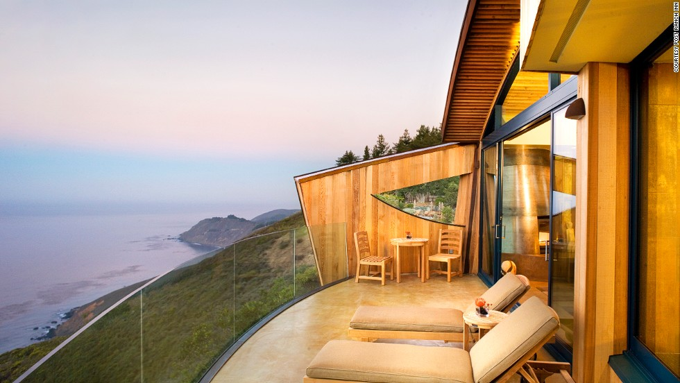 "The <strong>Post Ranch Inn</strong> at Big Sur<strong> </strong>is ""quite simply, one of the world's very best places to say,"" according to the judges in this category, which included a Sunday Times editor and an award-winning photographer. Their reasons: California cliff-top setting, fireside massages, hot tubs, views of tall redwoods and the Pacific ocean."