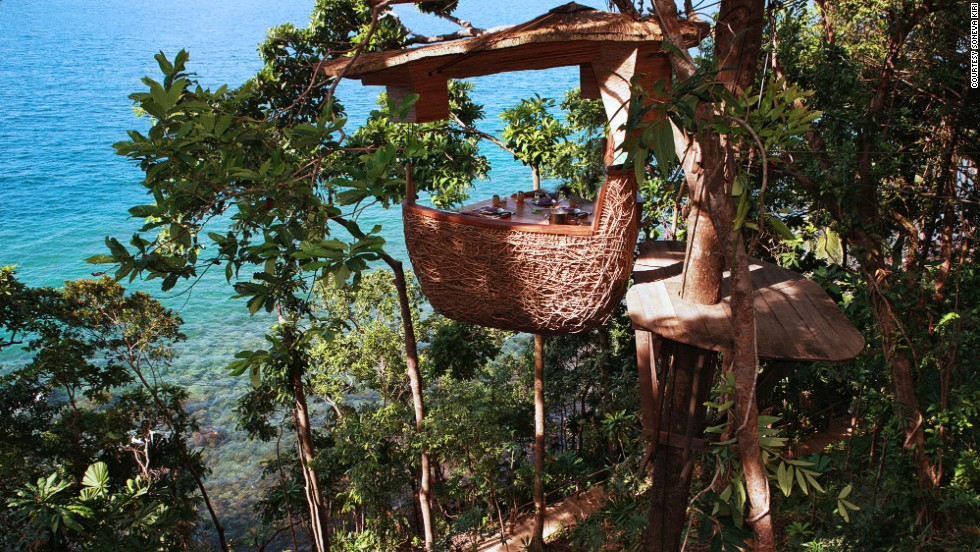 The kids' club at the <strong>Soneva Kiri</strong> in Koh Kood, Thailand, was designed by Dutch eco-architect Olv Bruin, who asked children to design their dream play area and made that come to life.