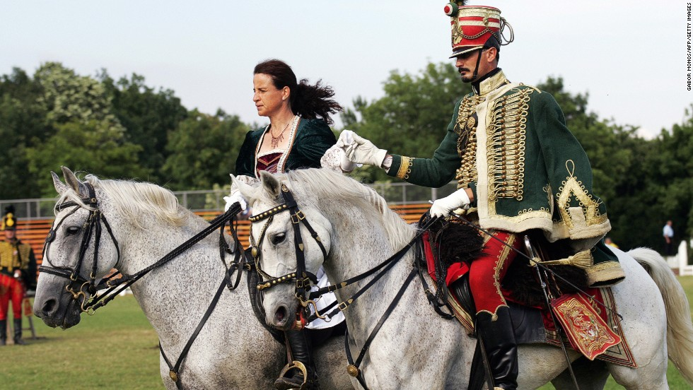 The Hungarians rode into the Carpathian Basin -- the land they conquered -- on horseback and have been in love with things equine ever since.