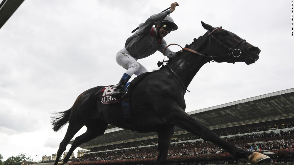 France celebrated home winner Treve in this year's Prix de l'Arc de Triomphe. The 2013 horse of the year is owned by Qatar's Sheikh Joann al-Thani, now a big player in the racing world.