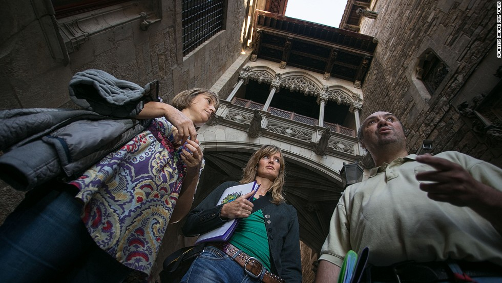 Some of Barcelona's 3,000 homeless people have turned tour guides. You can get their unique perspective on the city during tours.