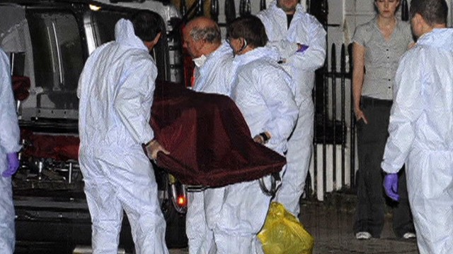 Police rule in British spy's death