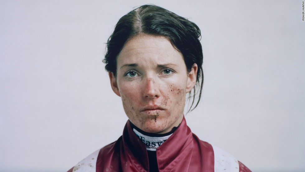Spencer Murphy won the $19,000 Taylor Wessing Photographic Portrait Prize for this photograph of Katie Walsh, which shows the Irish jockey in the colors of the racehorse Seabass.