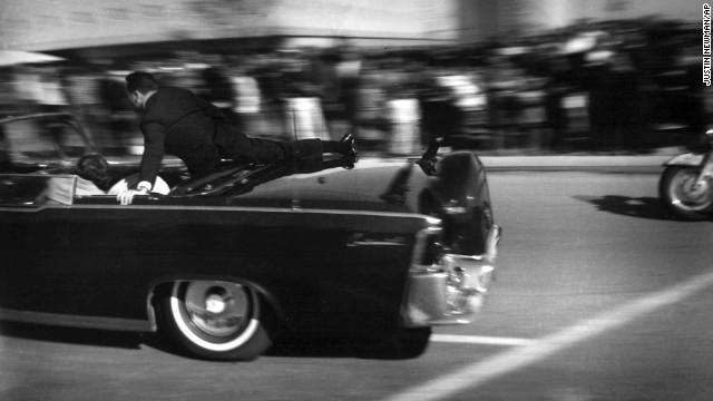 Running to protect JFK