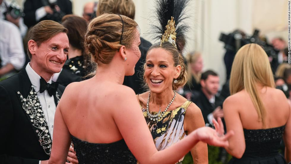 That face Sarah Jessica Parker is making in this photo? We know that face well, because we've made it before -- just about every time Jennifer Lawrence opens her mouth. For a woman with a resume full of dramas, she has some killer wit and comedic timing.