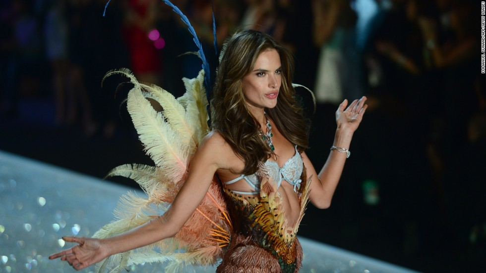 No. 7: Model Alessandra Ambrosio