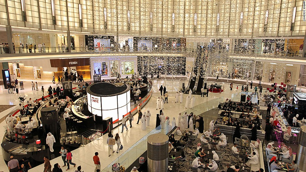 Dubai is known for glamour and excess; the shopping here would have your Scottish/Chinese/Indian/Great Depression grandmother spinning in her inexpensive plywood coffin. Home to the world's largest mall, Dubai is also home to an indoor ski resort ... at a mall.