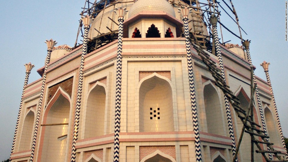 The Taj Mahal, one of India's great tourist sights, is no longer one of just India's great tourist sights.