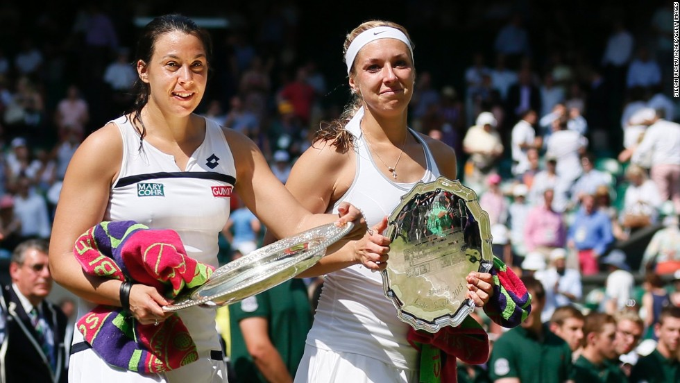 "In the final -- and after taking a nap an hour before it began -- Bartoli beat big-serving German Sabine Lisicki 6-1 6-4. ""I said 100 times, 'I just can't believe it,'"" said Bartoli. ""It took me more than a month to realize I won."""