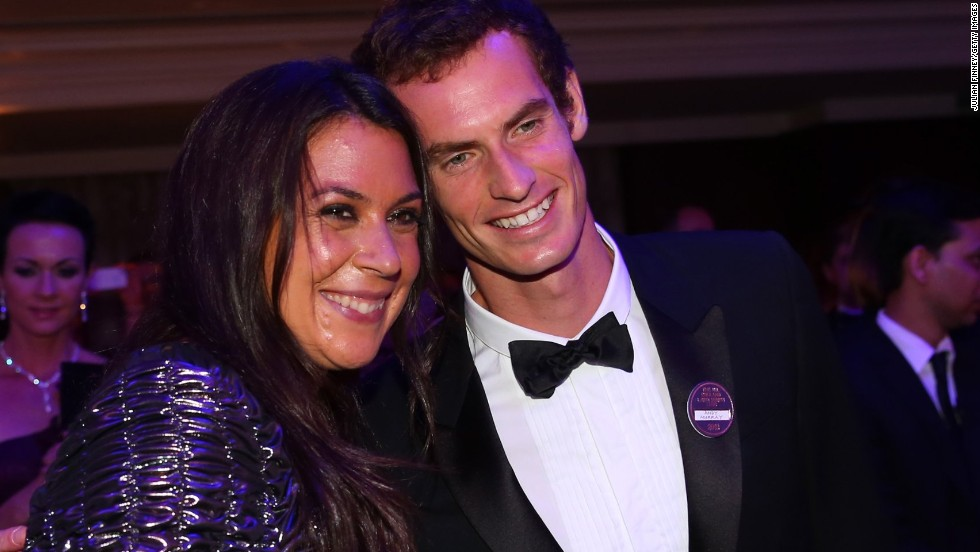 "After a BBC presenter made a disparaging remark about Bartoli's appearance, she showed up looking glamorous at the Wimbledon Ball.  ""I never dreamed of being a model,"" she said. ""I dreamed about winning Wimbledon."" Murray posed for a picture with Bartoli."