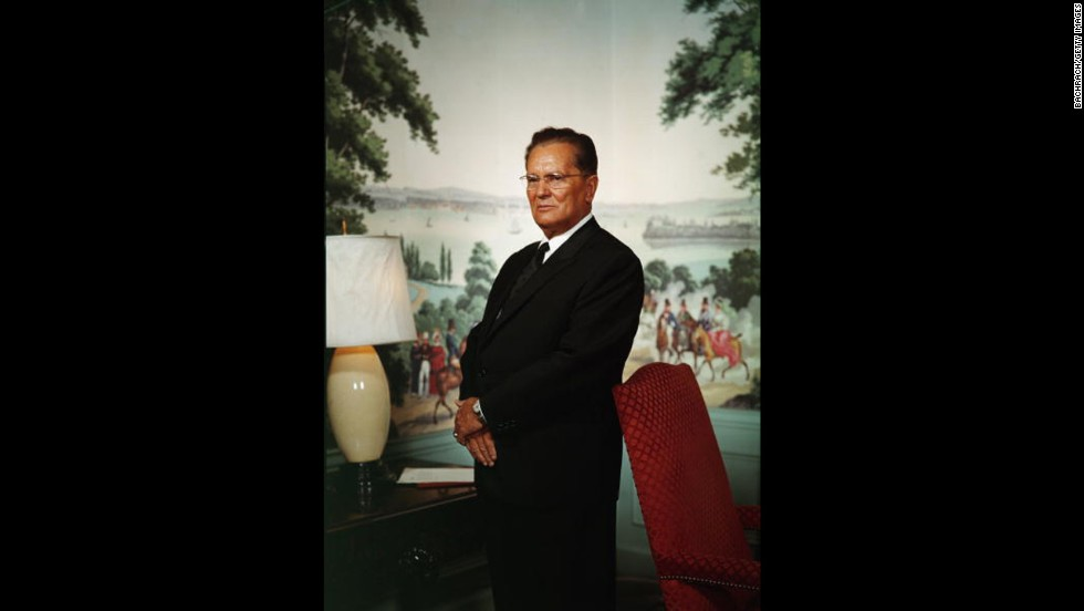Josip Broz Tito is proclaimed president for life in the constitution of the newly named Socialist Federal Republic of Yugoslavia on April 7, 1963.