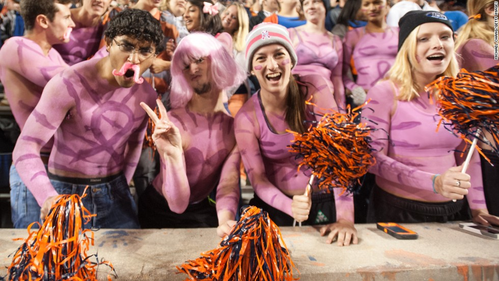 Tailgating at Auburn is a sport of its own thanks to the Tailgate Guys, a company dedicated to the art of tailgates.