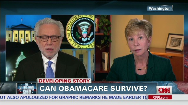 tsr ahip insurance head karen ignagni on obamacare_00022015.jpg