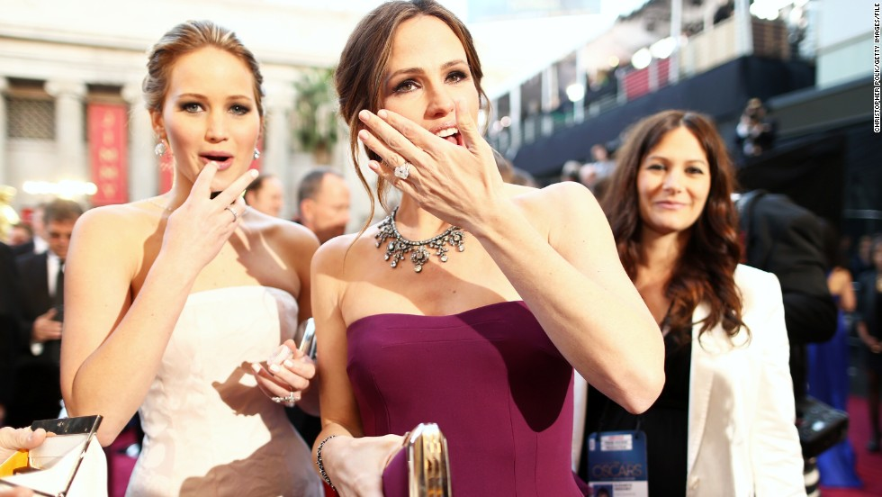 "<strong>On her acting style: </strong>""No, I'm not method at all. As soon as they call 'cut,' I'm thinking about food and moving on."" -- <a href=""http://marquee.blogs.cnn.com/2012/11/20/jennifer-lawrence-is-so-not-a-method-actress/?iref=allsearch"" target=""_blank"">November 2012</a>"