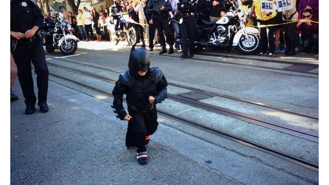 Batkid, age 5, saves 'Gotham City'