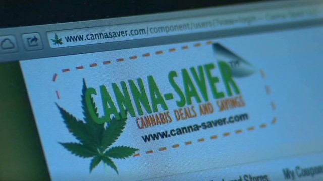 Website offers discount for marijuana