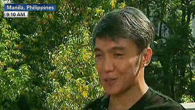 Journey lead singer helps typhoon survivors