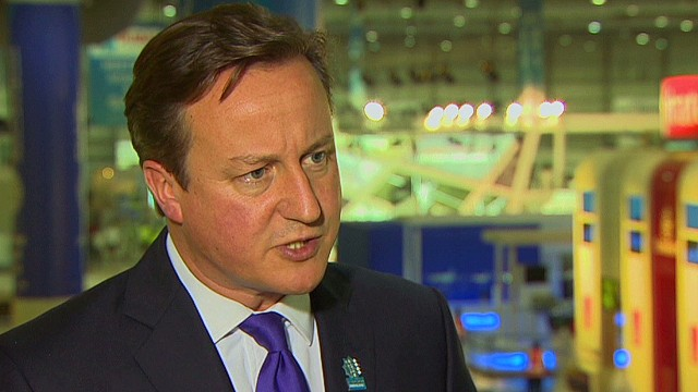 Cameron promotes UK business in Dubai