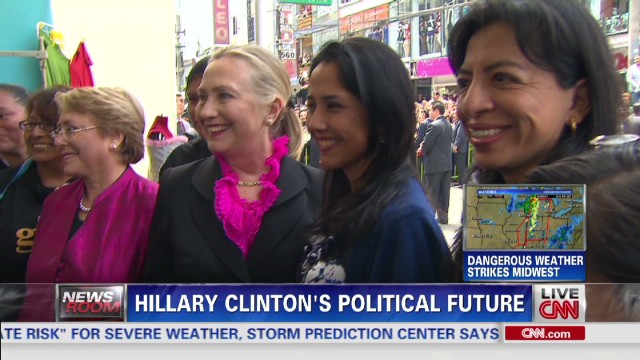 Hillary Clinton looking to 2016?