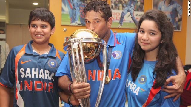 Tendulkar on career, family and future