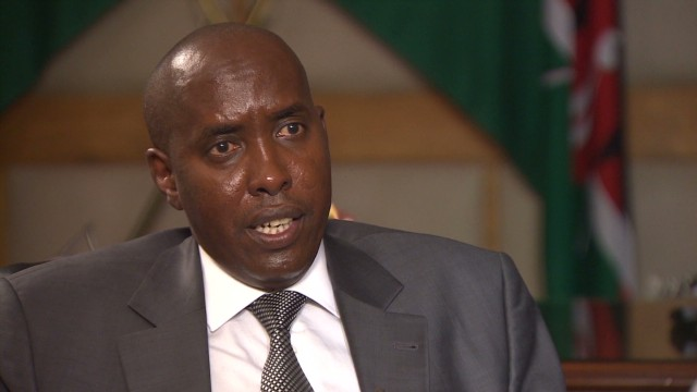Kenyan minister discusses border security