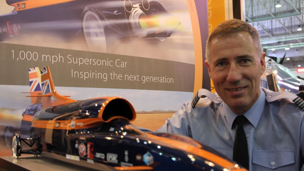 Andy Green (pictured) hopes the project will inspire a new generation of scientists and engineers