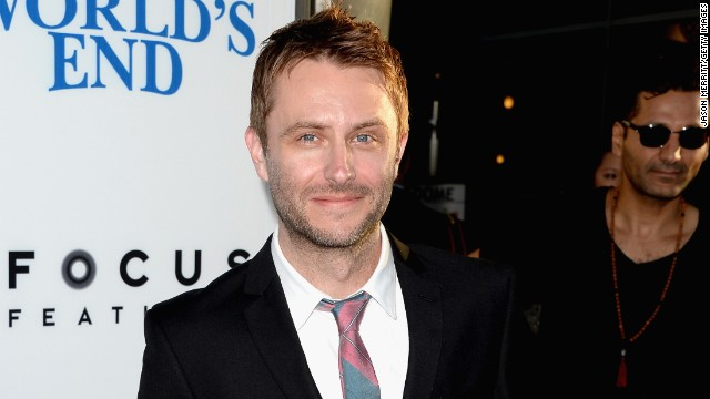 "Chris Hardwick arrives at the premiere of ""The World's End"" in August  2013 in Hollywood, California."