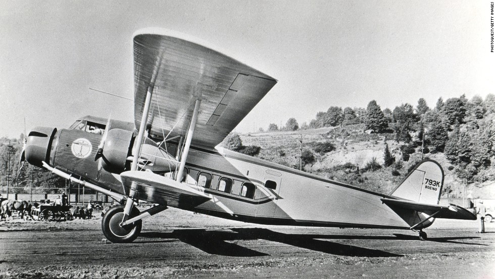 Built in 1928, the Model 80 was America's first airliner designed to transport passengers on a scheduled service. It had room for three crew, 18 passengers and 408 kilograms of cargo. The fuselage was covered in fabric. Pilots accustomed to open-air cockpits complained about the enclosed flight deck. Cost: $140,000.
