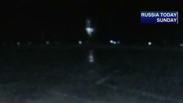 Tragic video shows plane nosediving