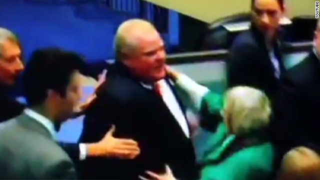 Toronto mayor plows into council member