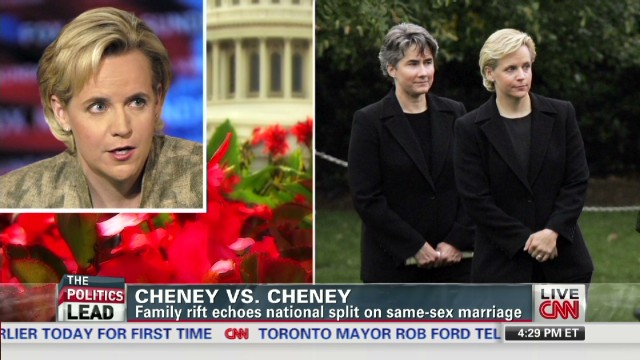 Cheney sisters split over same-sex debate