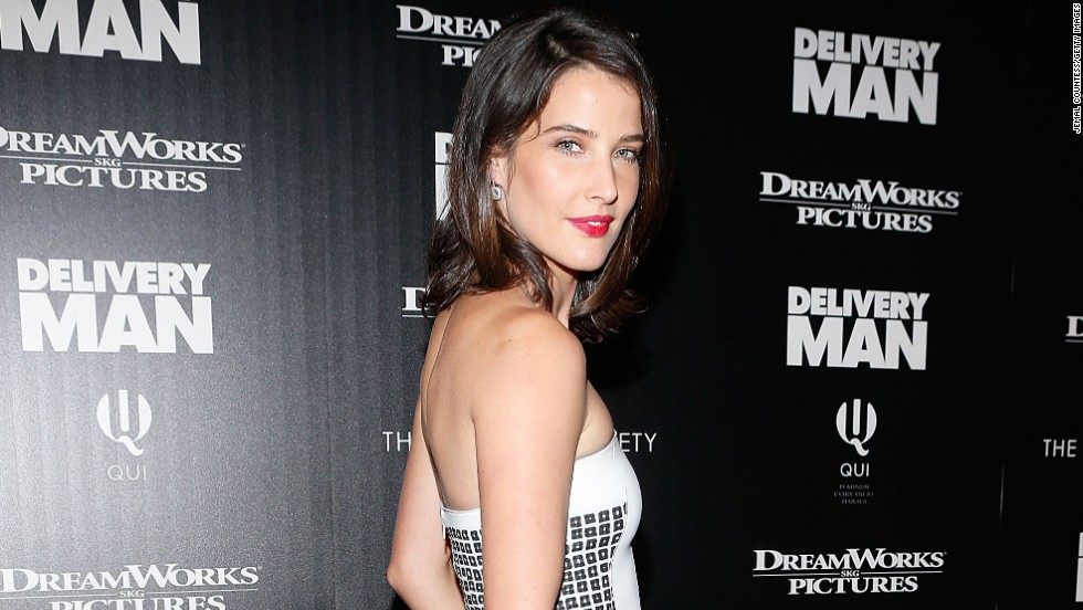 "Cobie Smulders attends the screening of ""Delivery Man"" at the Paley Center For Media on November 17 in New York City."
