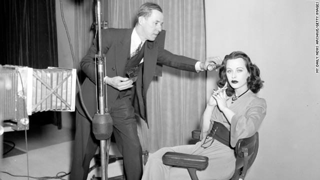 Early 20th century actress Hedy Lamarr invented technology key to modern-day cell phones.