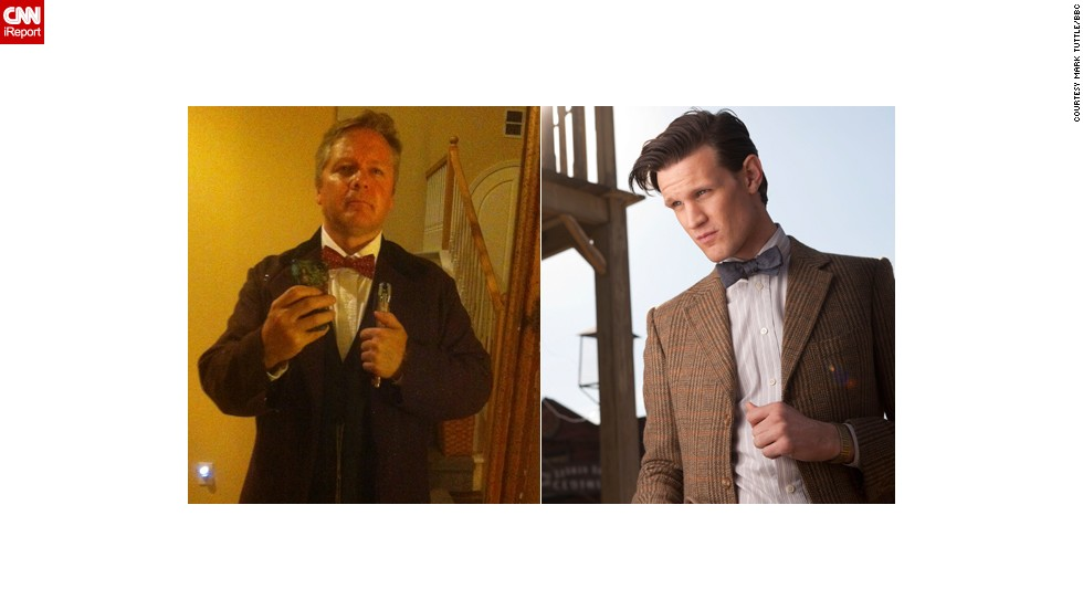 "<a href=""http://ireport.cnn.com/docs/DOC-1061245"">Mark Tuttle</a> of Escondido, California, as the Eleventh Doctor."