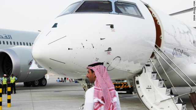 In the Middle East, many private jet clients tend to travel with their families more than clients in other regions.