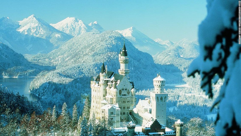 """Surrounded by the majestic Alps and pristine Bavarian Forests, King Ludwig II's enchanting Neuschwanstein is the world's most picturesque castle,"" says photographer Sheri Vitullo. <strong>More: <a href=""http://travel.cnn.com/explorations/escape/15-most-romantic-castles-764475""><strong></strong>15 of the best European castle hotels </a></strong>"