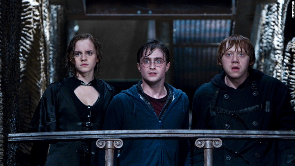 "The <strong>Harry Potter</strong> movies, starring Emma Watson, Daniel Radcliffe and Rupert Grint, generally rate well in the ""Movie Guide,"" with the worst (2½ stars) being the first two Chris Columbus-directed entries, and the best (3½) noted as ""Goblet of Fire."" ""Goblet"" is ""by far the most intense installment of the series,"" the ""Movie Guide"" says."