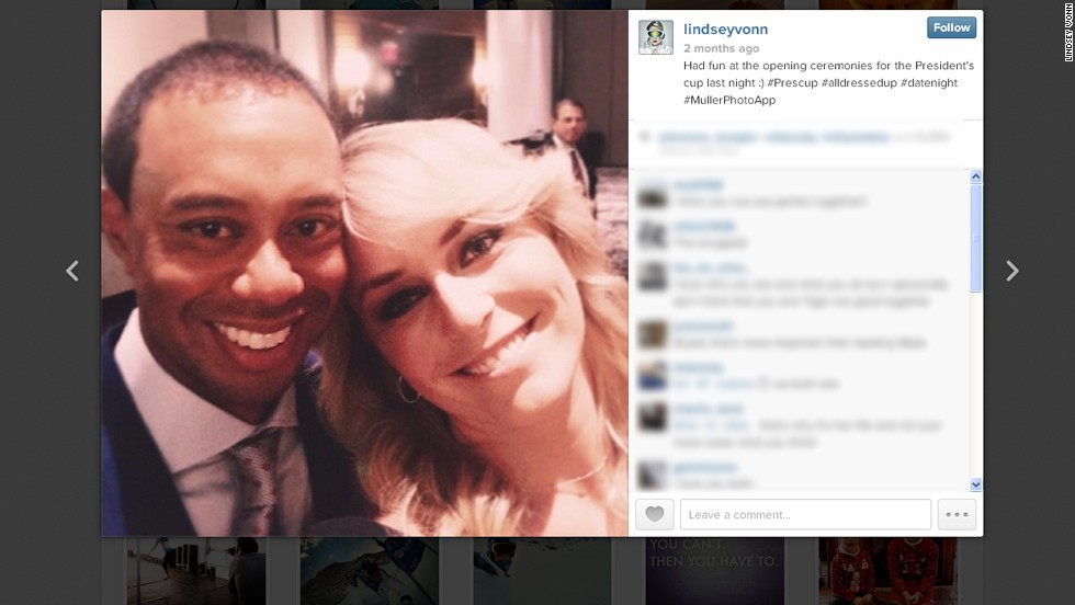 It's official, selfie is the global word of 2013 according to the Oxford Dictionaries. The global craze for taking photos of yourself at every available opportunity continues unabated, and sports stars are no exception. So is this the ultimate sporting selfie? Champion skier Lindsey Vonn uploaded this snap of herself with  boyfriend Tiger Woods -- the world's No. 1 golfer -- at October's Presidents Cup.